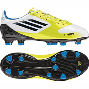 adidas Youth F10 TRX FG Soccer Shoes (Lime)