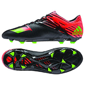 adidas Lionel Messi 15.1 TRX FG Soccer Shoes (Black/Red)