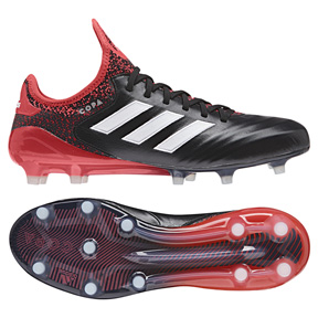 adidas Copa  18.1 FG Soccer Shoes (Black/Red)