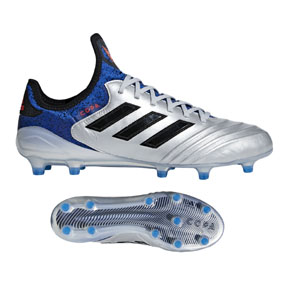 adidas Copa  18.1 FG Soccer Shoes (Silver/Core Black)