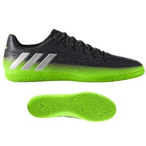 adidas Lionel Messi 16.3 Indoor Soccer Shoes (Space Dust)