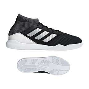 adidas Predator 19.3 Indoor Soccer Shoes (Black/Cloud White)