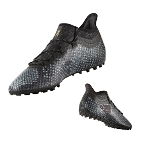 adidas X 16.1 Cage Turf Soccer Shoes (Gray/Black)
