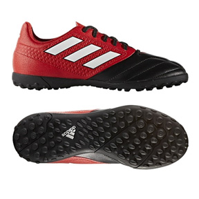 adidas Youth  ACE 17.4 Turf Soccer Shoes (Red Limit Pack)
