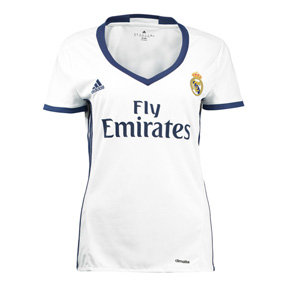adidas Womens Real Madrid Soccer Jersey (Home 16/17)