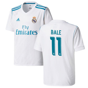 adidas Real Madrid Bale #11 Soccer Jersey (Home 17/18)