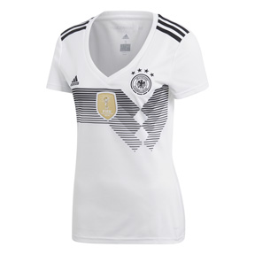 adidas Womens Germany Soccer Jersey (Home 18/19)