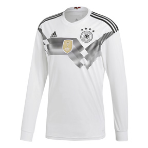 adidas  Germany  WC2018 Long Sleeve Soccer Jersey (Home 17/18)