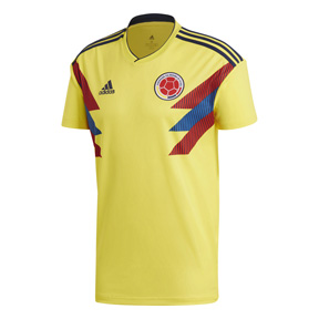 adidas  Colombia  World Cup 2018 Soccer Jersey (Home 17/18)