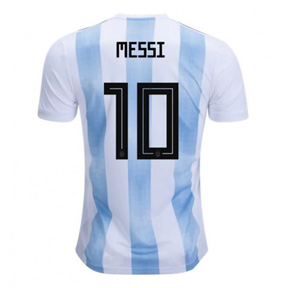 adidas Youth Argentina Lionel Messi #10 Jersey (Home 18/19)