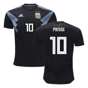 adidas Argentina Lionel Messi #10 Soccer Jersey (Away 18/19)