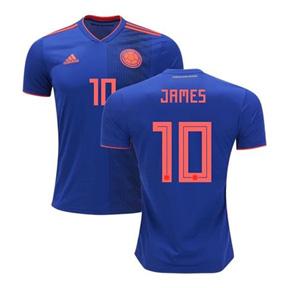 adidas Youth Colombia James #10 Jersey (Away 18/19)