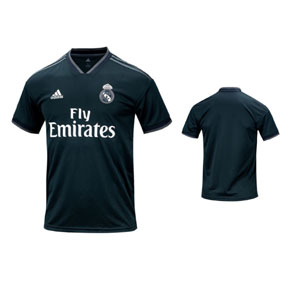 adidas Real Madrid Soccer Jersey (Away 18/19)