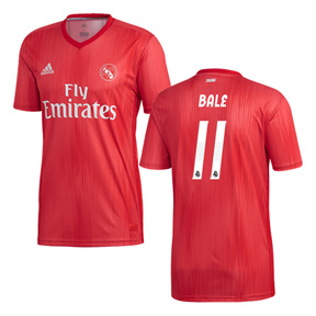 adidas Real Madrid Bale #11 Soccer Jersey (Alternate 18/19)