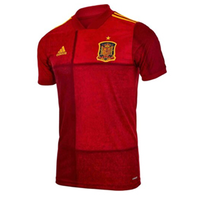 adidas Youth  Spain  Soccer Jersey (Home 20/21)