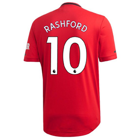 adidas Youth  Manchester United  Rashford #10 Jersey (Home 19/20)