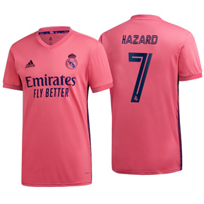 adidas  Real Madrid  Hazard #7 Soccer Jersey (Away 20/21)