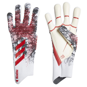 adidas  Predator  Pro Manuel Neuer Goalie Glove (White/Red/Black)
