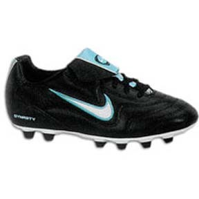 Nike Womens Volant FG-E Soccer Shoes (Black/White)