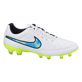 Nike Tiempo Legacy FG Soccer Shoes (White Pack)