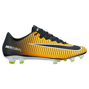 Nike  Mercurial Vapor   XI FG Soccer Shoes (Laser Orange/Black)
