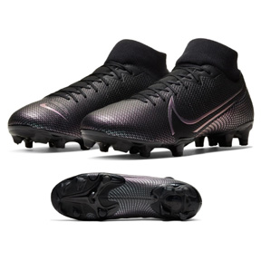 Nike  Superfly 7 Academy FG Soccer Shoes (Black/Black)