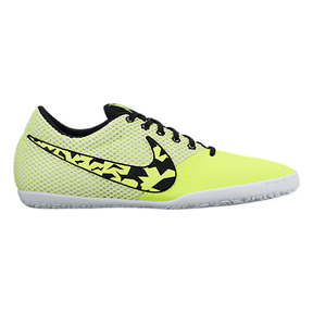 Nike Elastico Pro III Indoor Soccer Shoes (Volt/White)