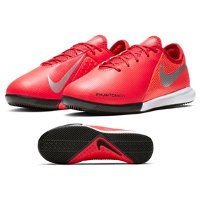 Nike Youth  Phantom Vision Academy Indoor Soccer Shoes (Crimson)