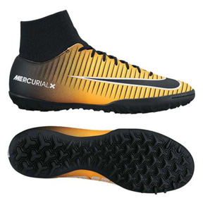 Nike Mercurial Victory VI DF Turf Soccer Shoes (Laser Orange)
