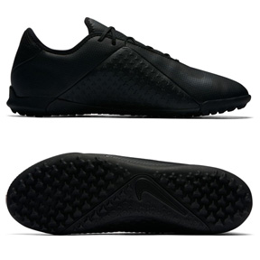 Nike Phantom Vision Academy Turf Soccer Shoes (Black/Anthracite)