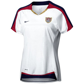 Nike Womens USA Soccer Jersey (Home 07/08)