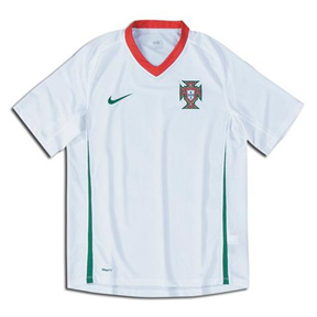 Nike Youth Portugal Soccer Jersey (Away 08/09)