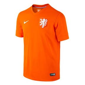 Nike Youth Holland World Cup 2014 Soccer Jersey (Home)