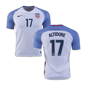 Nike USA Jozy Altidore #17 Soccer Jersey (Home 16/17)
