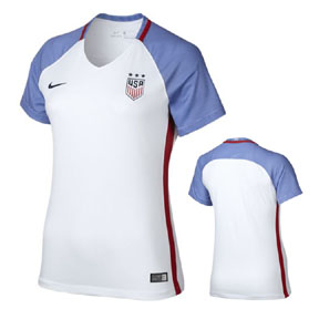 Nike Womens USA USWNT Player Cut Jersey (Home 16/17)