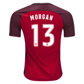 Nike Youth USA Alex Morgan #13 Soccer Jersey (Alternate 17/18)