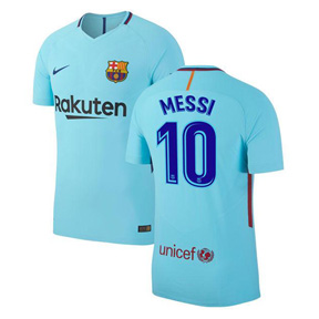 Nike Youth Barcelona Lionel Messi #10 Jersey (Away 17/18)