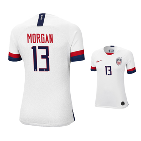 Nike USWNT Alex Morgan #13 Womens Soccer Jersey (Home 19/20)