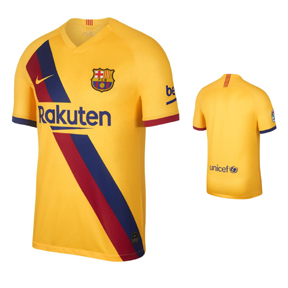 Nike Youth  Barcelona  Soccer Jersey (Away 19/20)