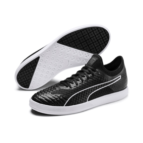 Puma  365 Concrete Lite Indoor Soccer Shoes (Puma Black/White)