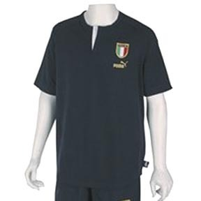 Puma Italy Team Badge Soccer Tee