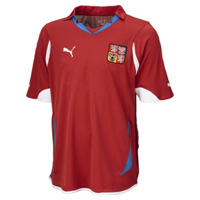 Puma Czech Republic Soccer Jersey (Home 2010/12)