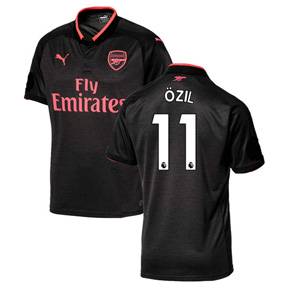 Puma Youth Arsenal Ozil #11 Soccer Jersey (Alternate 17/18)