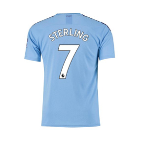Puma Youth  Manchester City Sterling #7 Jersey (Home 19/20)