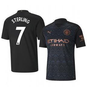 Puma Manchester City Sterling #7 Soccer Jersey (Away 20/21)