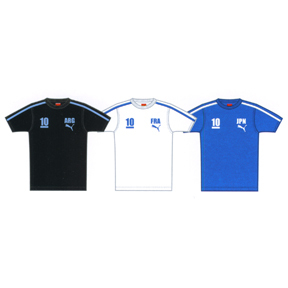 Puma Japan Graphic Soccer Tee (Blue)