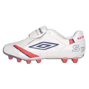 Umbro  Speciali Anatomical HG Soccer Shoes (White)
