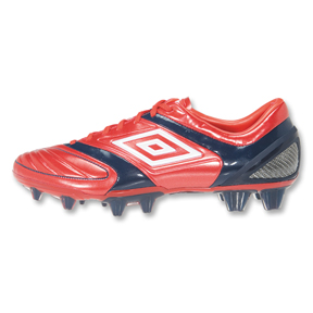 Umbro  Stealth Pro A HG Soccer Shoes (Red)
