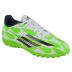 adidas Youth F5 TRX Turf Soccer Shoes (White/Bright Green)