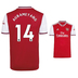 adidas Youth Arsenal Aubameyang #14 Soccer Jersey (Home 19/20)